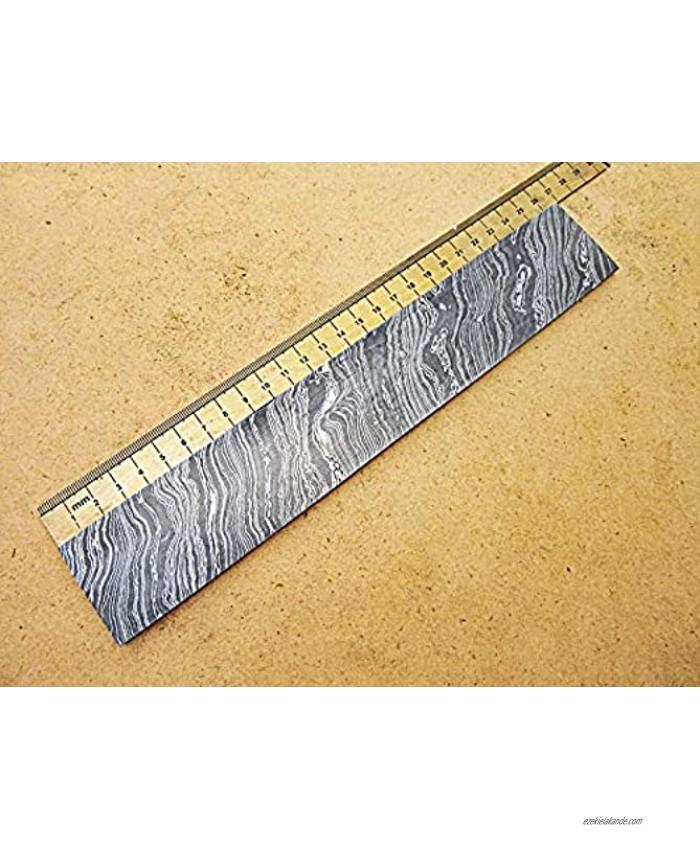 DBS-659 Custom Handmade Damascus Steel Billet Knife Blank Blade Making Bar