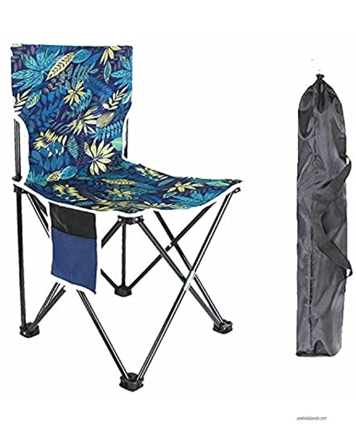 Portable Camping Chair Folding Chair Supports 330lbs with Storage Bag for Child Outdoor Camp,Picnic,Beach,Hiking,Backpacking,Travel