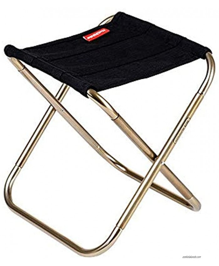A-code Mini Portable Folding Stool,Ultra Light Portable Outdoor Folding Chair Storage Bag for BBQ Party,Camping,Fishing Travel Hiking Garden,Beach