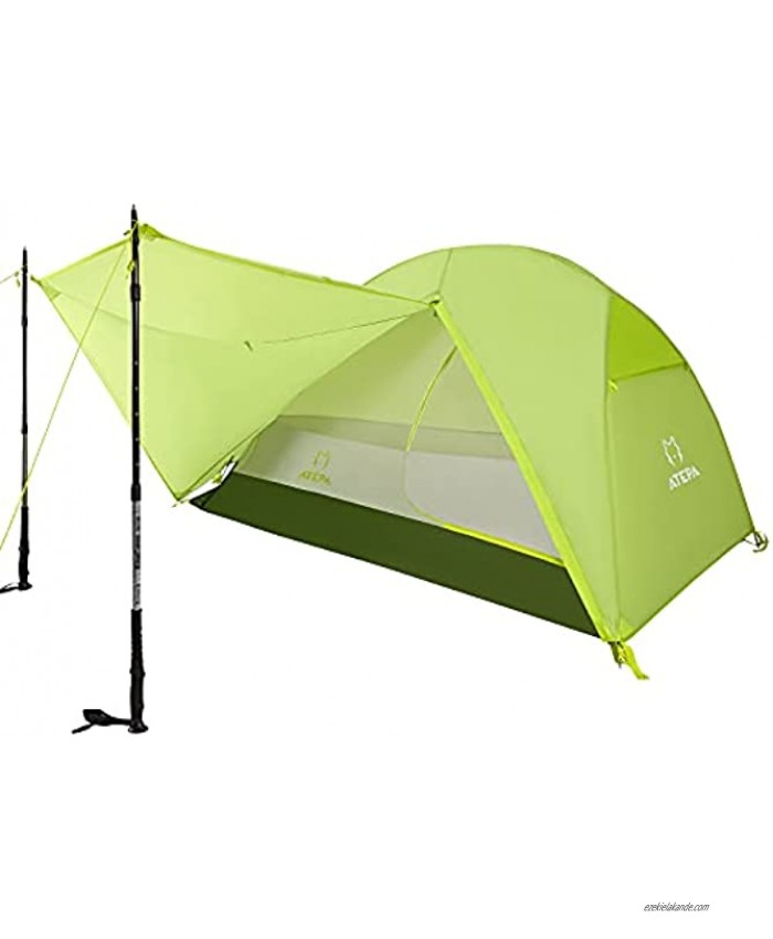 ATEPA Camping Tent 1 2 3 Person Ultralight Windproof Waterproof Tent for Backpacking Camping Tent