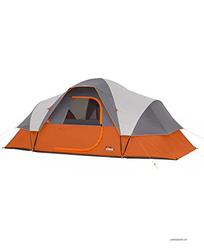 CORE 9 Person Extended Dome Tent 16' x 9'