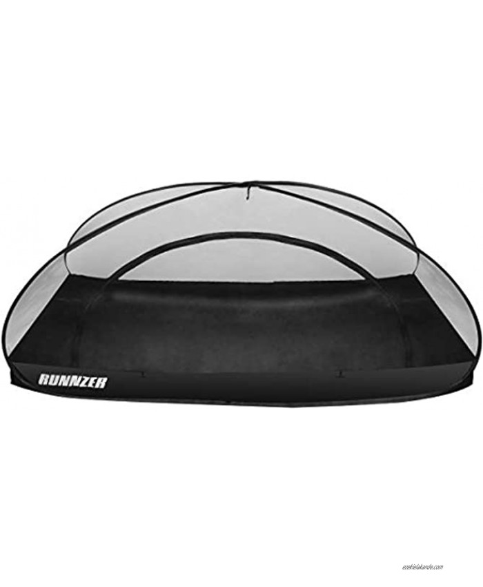 L RUNNZER Single Pop up Portable Mosquito Camping Net Tent