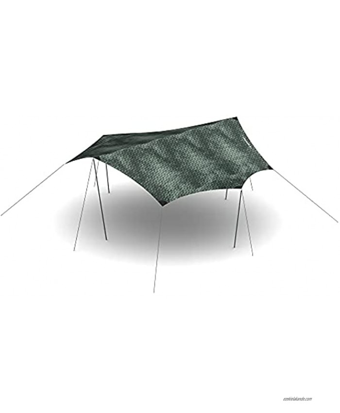 HEIMPLANET Original | Dawn Tarp XL | Waterproof Tent Tarp with 5000 mm Water Column | Supports 1% for The Planet