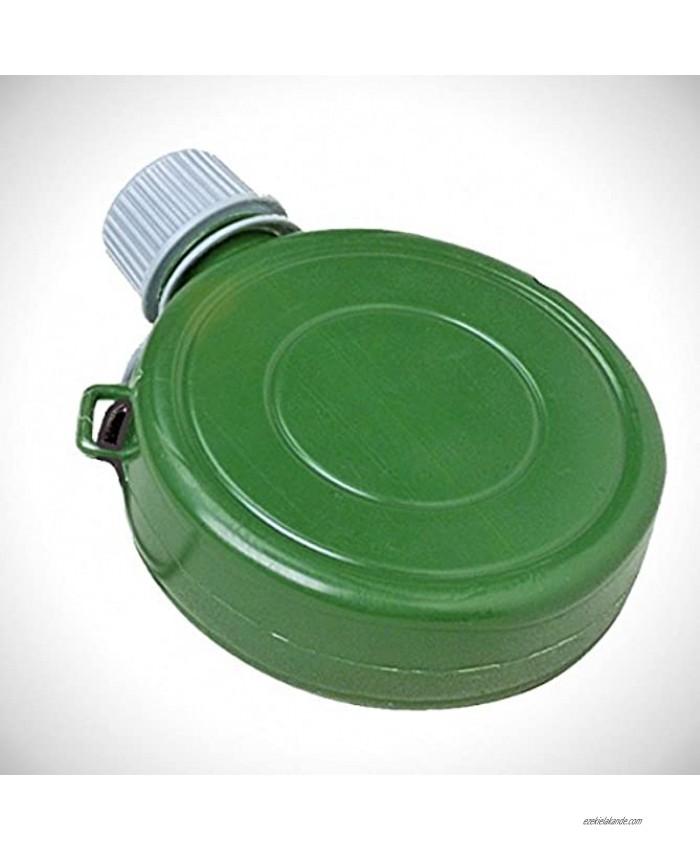 U.S. Toy Set of 12 Green Mini Plastic Canteen Toys