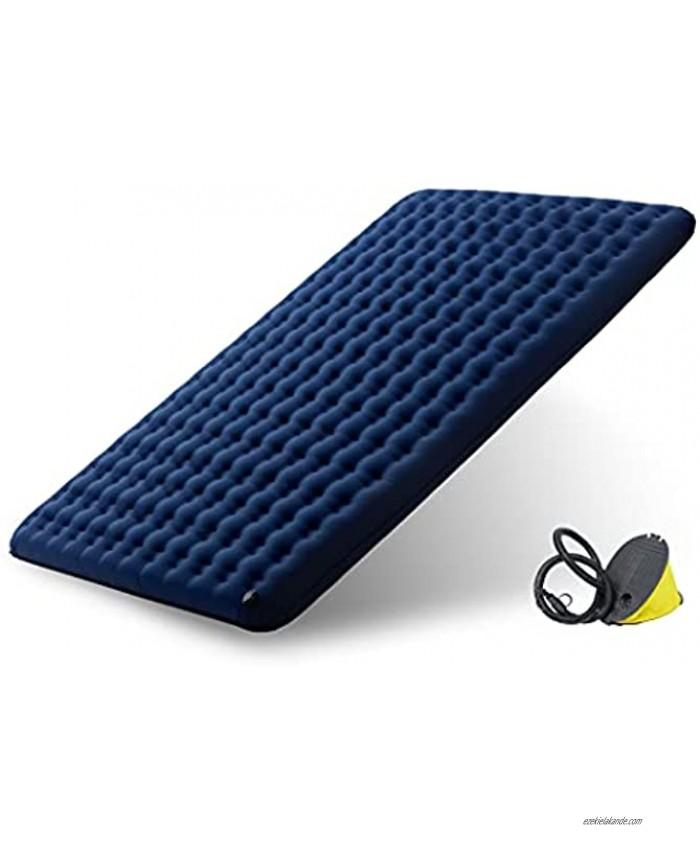 WOLF WALKER Self-Inflatable Sleeping Pad for Camping Ultralight Waterproof Double Sleeping Mat Air Mattress Backpacking Hiking Traveling
