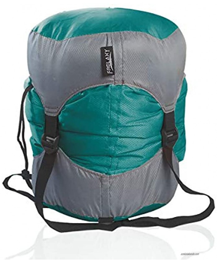 Frelaxy Compression Sack Ultralight Sleeping Bag Stuff Sack 40% More Storage! 11L 18L 30L 45L 52L Compression Stuff Sack Space Saving Gear for Camping Hiking Backpacking