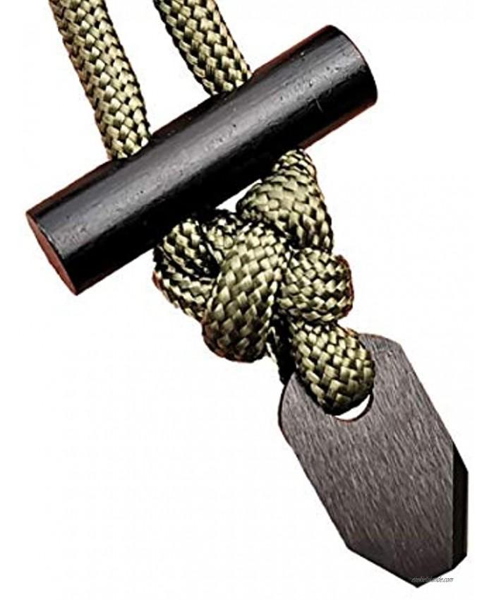 BSGB Fire Starter Necklace   Ceramic Striker   Long Ferro Rod Mini Size EDC Survival Kit for Fire Starter Ferro Rod