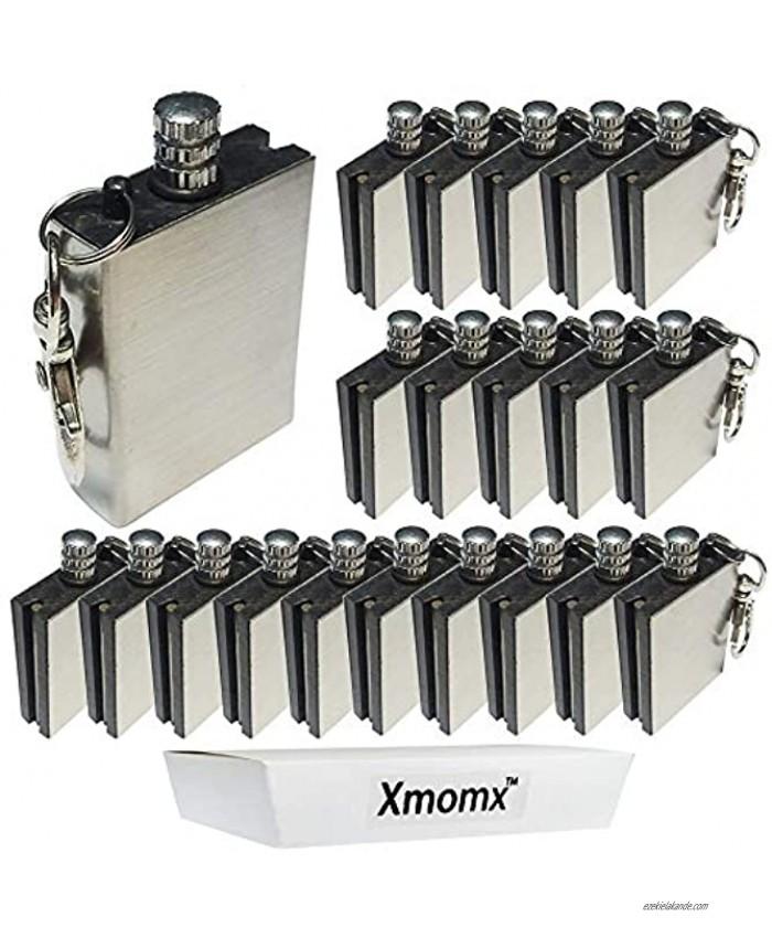 Xmomx 20 x Hiking Emergency Survival Camping Fire Starter Flint Metal Match Lighter