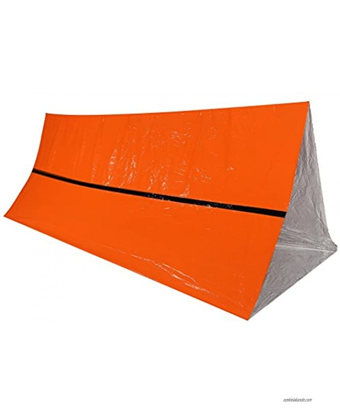 Emergency Sleeping Bags,Lightweight Survival Sleeping Bags Waterproof Thermal Emergency Blanket Thicken Rescue Shelter Portable Bivy Sack Survival Gear Tent for Outdoor Camping Hiking Adventure