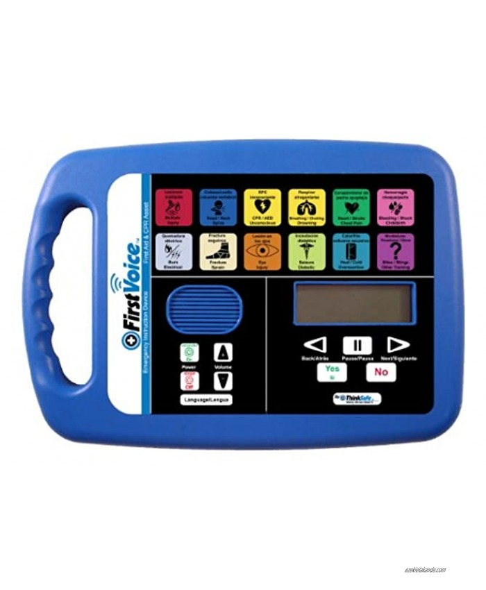 First Voice AVU5001-T10CPR First Aid and CPR Assist Plus Certified First Aid and CPR Training Package for 10 People