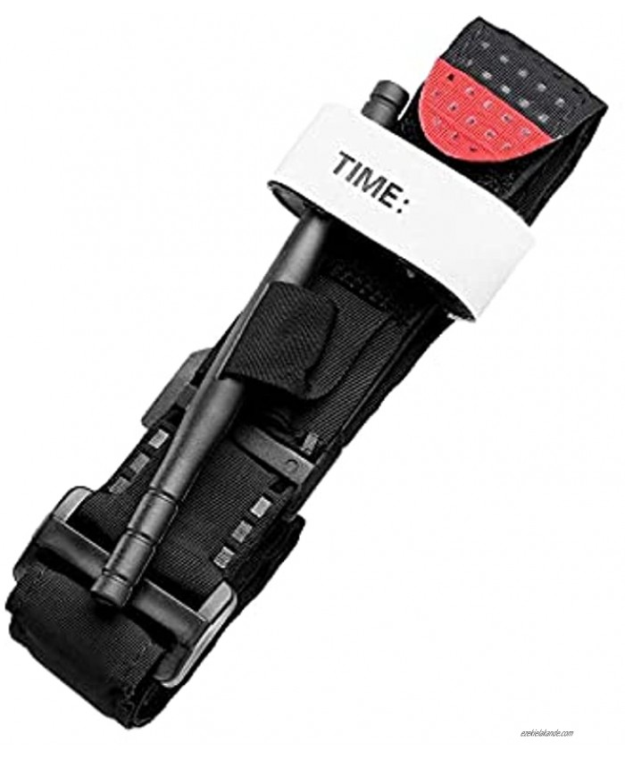 Tourniquets First Aid Tourniquet One-Handed Emergency Outdoor Tourniquet for Tactical Medic Severe Life Saving Hemorrhage Control Application Tactical Emergency Strap